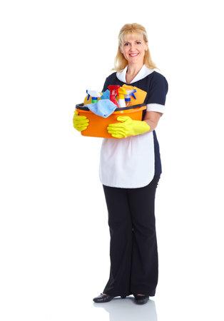 Maid woman Stock Photo - 10483406