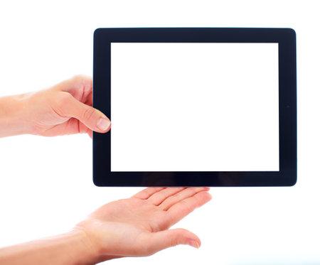 Tablet computer. Фото со стока