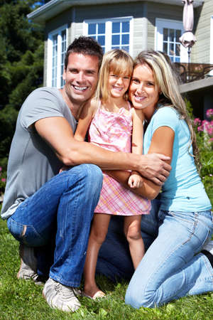 Happy family. Stock Photo - 10548659