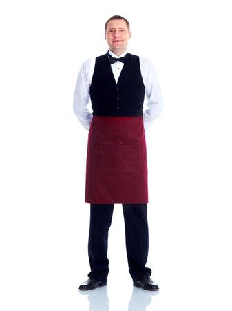 číšník: Číšník. Reklamní fotografie