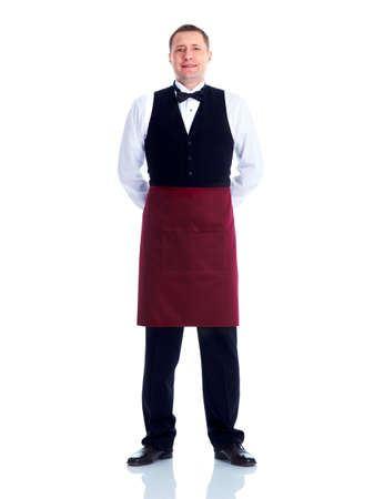full uniform: Waiter.