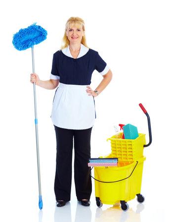 Maid woman. photo