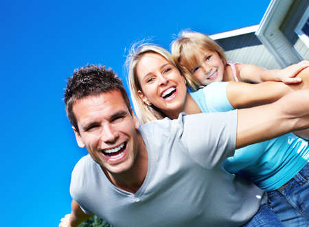 Happy family. Stock Photo - 10631016