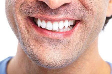 口: 歯。 写真素材
