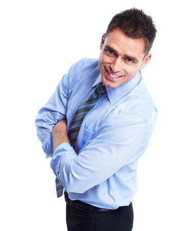 male teachers: Business man. Stock Photo