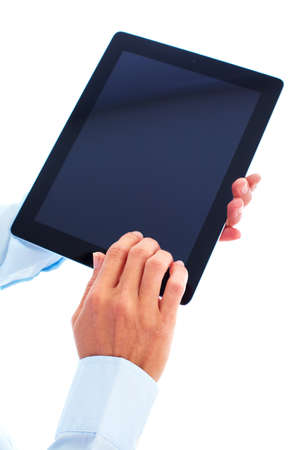 Tablet computer. photo