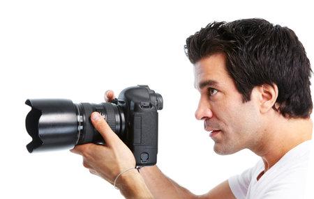 Photographer. Stock Photo - 10630666