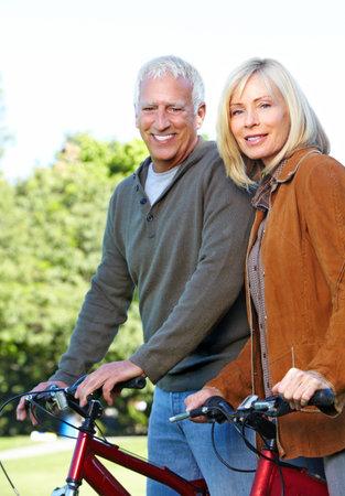 Riding couple. Stock Photo - 10631017