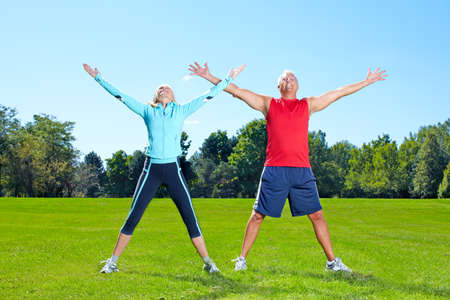 healthy seniors: Gym, Fitness, healthy lifestyle.