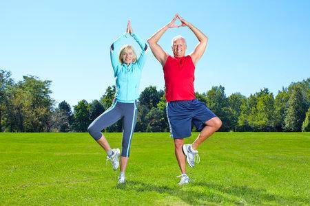 health elderly: Gym, Fitness, healthy lifestyle.