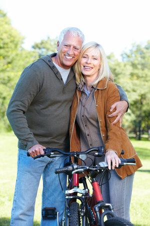 Riding couple. Stock Photo - 10631094