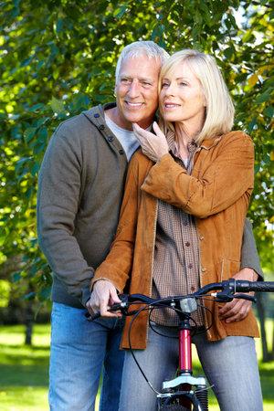 Riding couple. photo