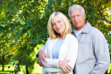 older couples: Senior couple.