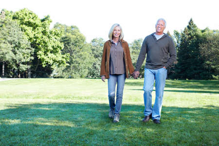 older couples: Senior couple.. Stock Photo