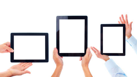 Tablet computer. Stock Photo - 10696716