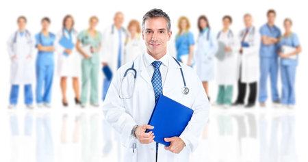 medical laboratory: Doctor.