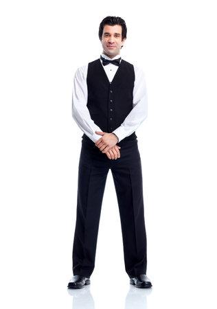 hotel staff: Waiter.