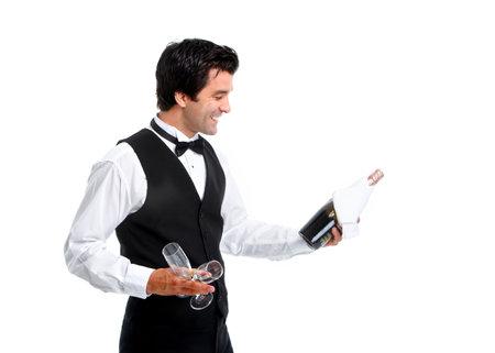 Waiter. photo