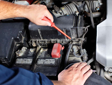 Auto mechanic Stock Photo - 10696497