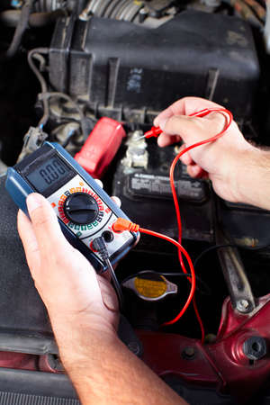 Auto mechanic Banco de Imagens - 10696691