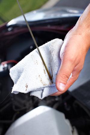 dirty car: Auto repair.