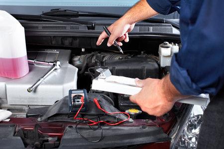 Auto mechanic. photo