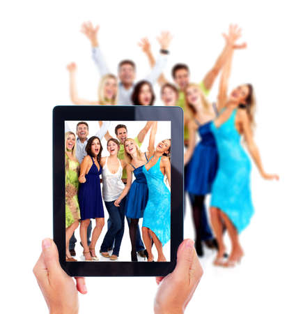 electronic devices: Tablet computer. Stock Photo
