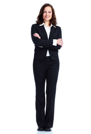 standing reception: Business woman.