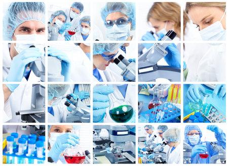 bata de laboratorio: Laboratorio