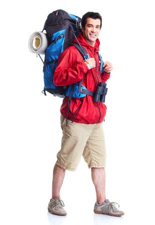 観光。ハイキング 写真素材