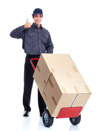 delivery service: Delivery worker