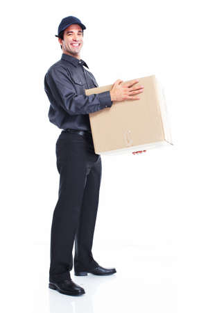 Delivery worker photo