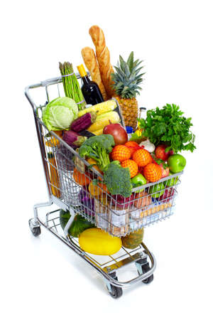 Shopping cart. Stock Photo - 10733532