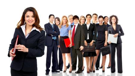Equipo de personas de negocios Foto de archivo - 10733514