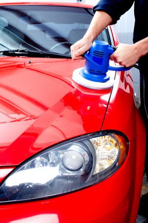 Car polish. photo