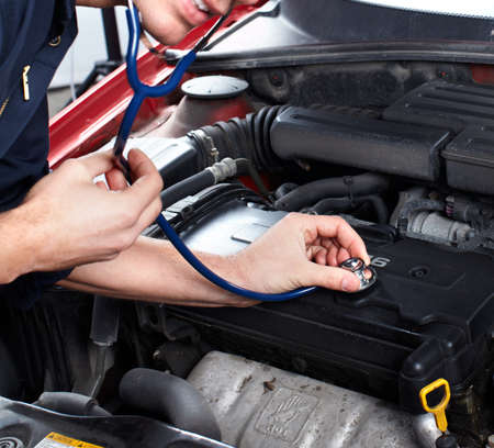 Auto repair. Stock Photo - 10757043