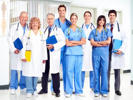 health care: Doctors. Stock Photo