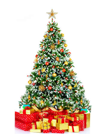 christmas backgrounds: Christmas tree