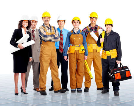 Workers. photo