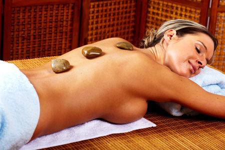 Spa massage. photo