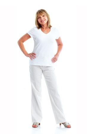 Senior woman. Stock Photo