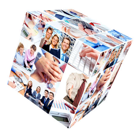 Business people team. Stock Photo - 10804766