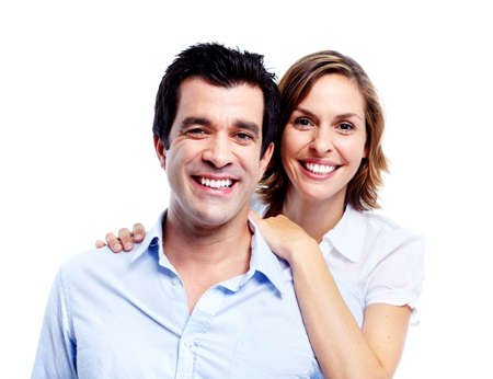 Happy couple. Stock Photo - 10857331
