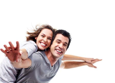 active life: Happy couple.
