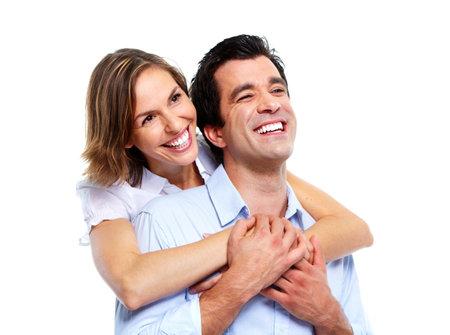 Gelukkige paar. Stockfoto - 10857129