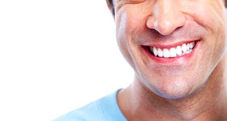 Smiling man.