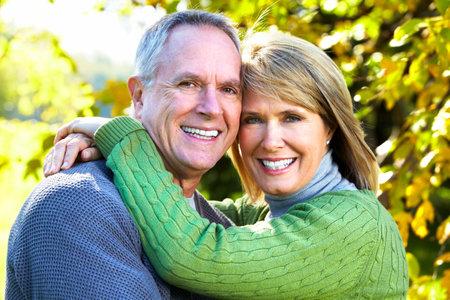 50s adult: Happy couple.