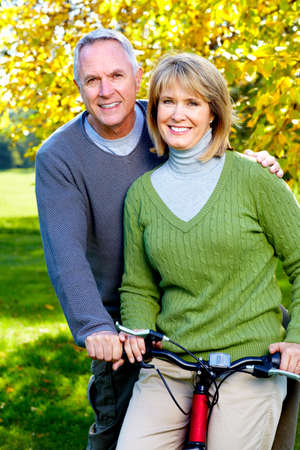 velo: Senior couple.