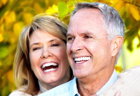 Gelukkige paar. Stockfoto - 10857274