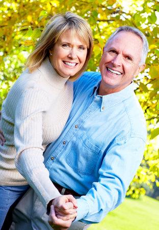 Elderly couple. Stock Photo - 10857266